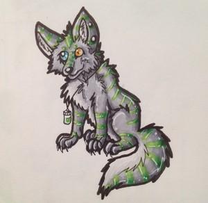 Acid wolf ash