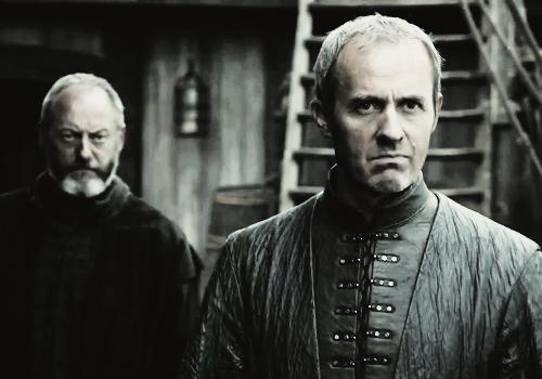 juego de tronos, stannis baratheon, davos seaworth