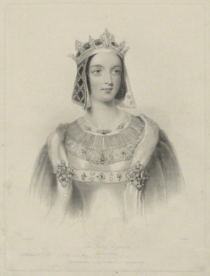 "Georgiana Seymour, Duchess of Somerset was chosen to be the ""Queen of Beauty"" in 1839"