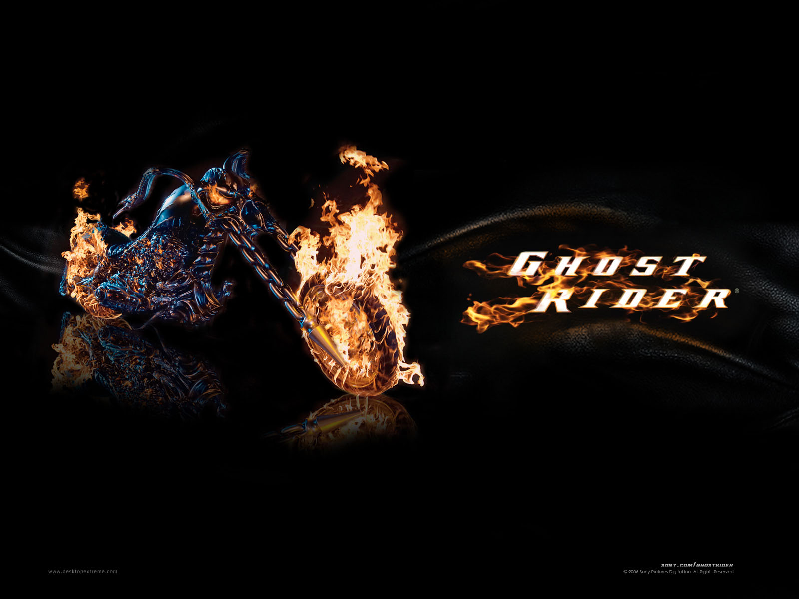 The Ghost Rider images ghost rider bike HD wallpaper and background photos