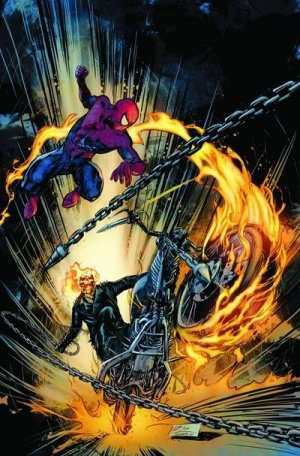 spider man vs ghost rider