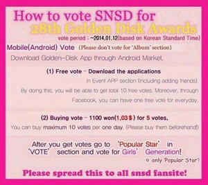 Vote for SNSD