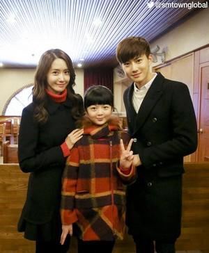Yoona and EXO Suho