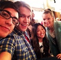 Set photo from 100th episode - glee photo