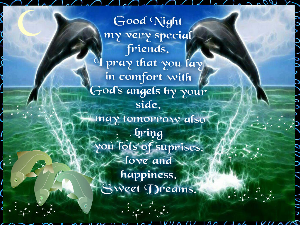 Good Night Quotes For Special Friend : Good night nature fan art  fanpop