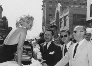 Grand Marshal Parade, 1952 - Marilyn Monroe