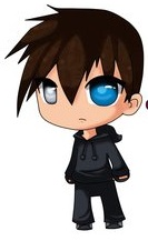 Chibi cute grim jr