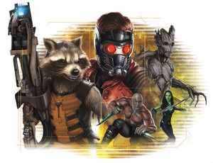 Guardians of the Galaxy Artwork