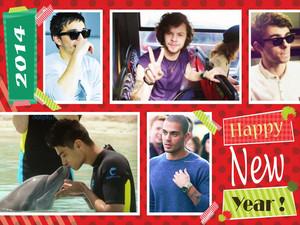 Happy new 年