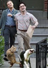 Daniel Radcliffe and Leonardo Dicaprio