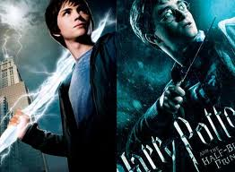 Harry Potter پیپر وال entitled Harry meets Percy
