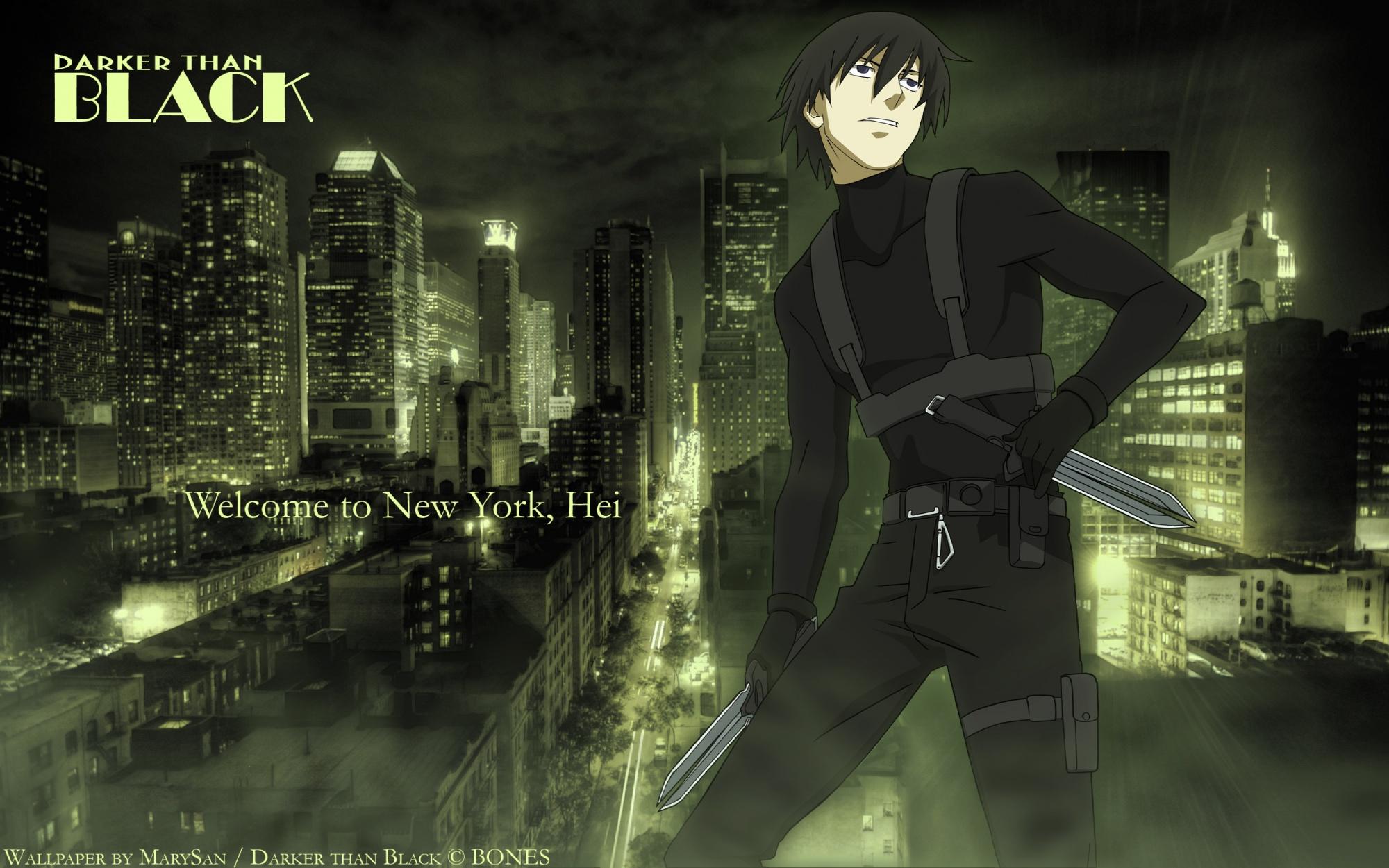 Darker Than Black  Hei Wallpaper 36408936 Fanpop