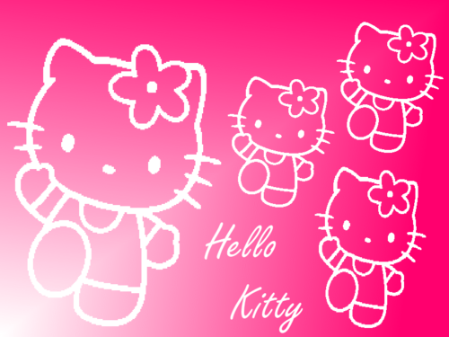 Hello Kitty wallpaper titled tarahitzatir