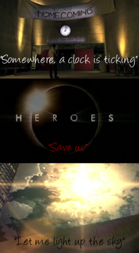 Heroes wallpaper probably containing a sign and a multiplex called Heroes Song Lyrics
