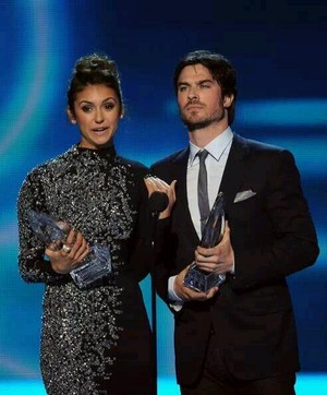Ian Somerhalder & Nina Dobrev People's Choice