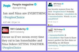 This awkward moment when the media ship Nian...