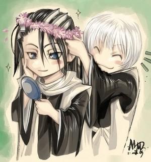 *Byakuya & Gin*