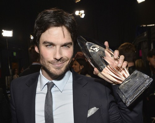 Ingrid's Graceland wallpaper with a cleaver called Ian Somerhalder at PCA 2014
