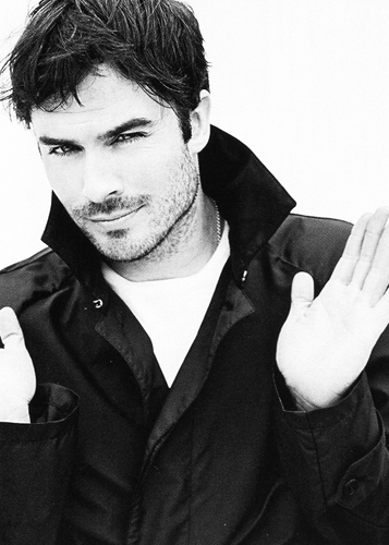 Ingrid's Graceland wolpeyper called Ian Somerhalder Harper's Bazaar Photoshoot