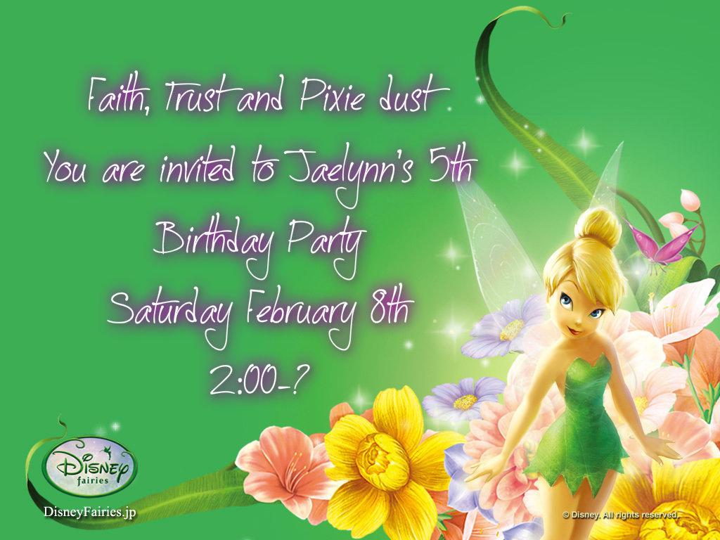 Jaelynn's invite