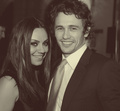 mila kunis and james franco - james-franco fan art
