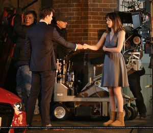 Fifty Shades of Grey - On Set - January 16