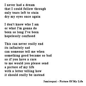 Picture Of My Life lyrics