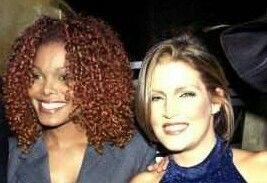 Janet And Former Sister-In-Law, Lisa Marie Presley