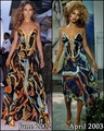 Beyonce copies JLo 2002 - jennifer-lopez fan art