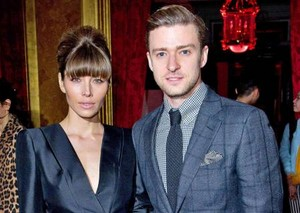 Jessica and her husband Justin Timberlake