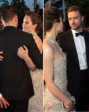 Jessica with her husband Justin Timberlake