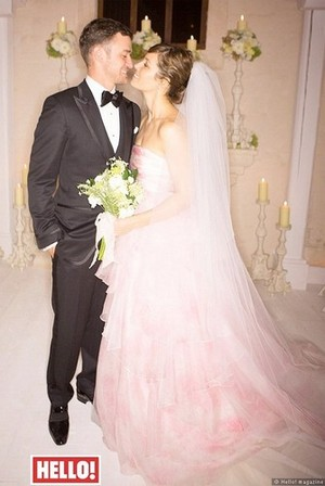 Jessica's wedding with Justin Timberlake