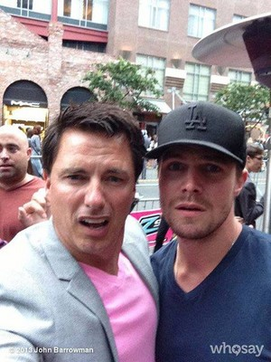 John and Stephen amell!
