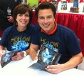 John and Carole Barrowman! - john-barrowman photo
