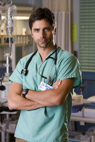 John Stamos fond d'écran titled Emergency Room