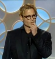 Johnny Depp presenting at the Golden Globes 2014 - johnny-depp photo