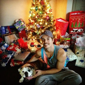 Josh & Sadie at Christmas!