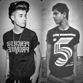Laddi Drew And Justin  Bieber  - justin-bieber fan art