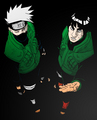 Kakashi and Gaï - kakashi photo