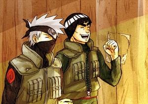 Kakashi and Gaï