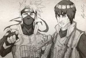 はたけカカシ and Gaï