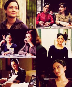 Kalinda's smile...