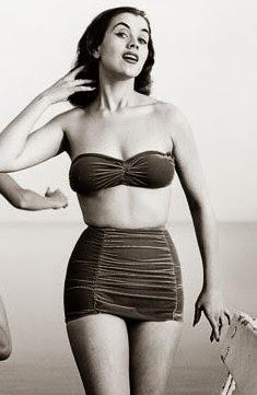 """Kerstin """"Kiki"""" Håkansson the winner of the first Miss World beauty pageant in 1951"""