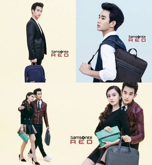 Kim Soo Hyun for 'Samsonite RED'