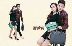 Kim Soo Hyun for 'Samsonite RED'