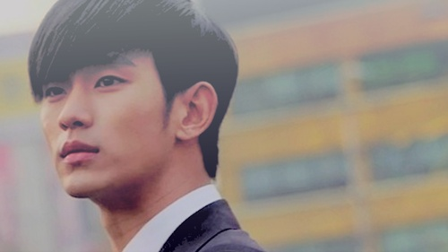 Kim SooHyun wallpaper containing a business suit entitled Do Min Joon/Kim Soo Hyun
