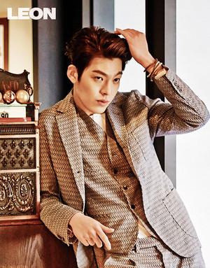 Kim Woo Bin for 'Leon Korea'