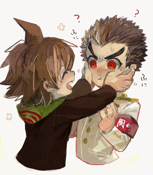 Ishimaru and Naegi