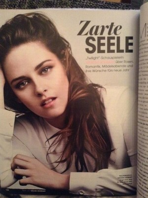 New photo of Kristen for InStyle Germany!