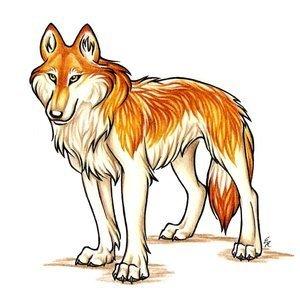 Jenna in волк form # 2